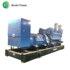 Alimentation de secours 800kw/1000kVA Groupe électrogène Diesel avec moteur MTU 16V2000G25