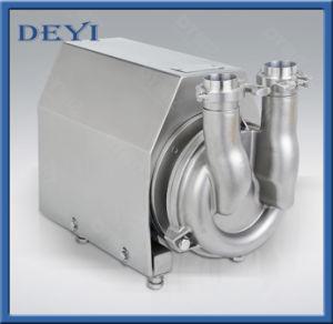 Gesundheitliche Rückholselbstansaugende Pumpe 7.5kw des Edelstahl-SS304/SS316L CIP