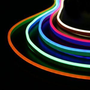 La vendita calda IP67 impermeabilizza la corda della flessione dell'indicatore luminoso al neon di SMD 5050 il RGB LED