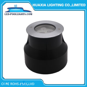 9W de luz de la piscina empotrada IP67 y IP68 de Metro de LED de iluminación (HX-HUG118-9W)