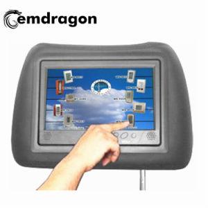 택시 머리 받침 접촉 스크린 간이 건축물 LCD 디지털 Signage를 광고하는 전시 지면 대 디지털 Signage 상점가를 광고하는 9 인치