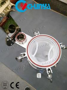 Alloggiamento del filtro a sacco dell'entrata della parte superiore dell'acciaio inossidabile
