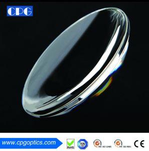 25.4mm revestidas super esférico polaco óptico da lente Lente de vidro