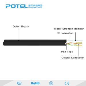 ISO 9001証明されたUTP Cat3のツイストペアの電話線