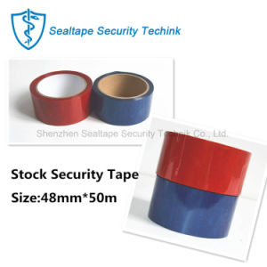 カートンのシーリングのための卸し売り機密保護のシーリングテープ