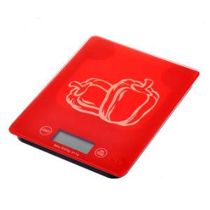 Balance de cuisine numérique diet food Compact Échelle de l'écran LCD du panneau de verre trempé