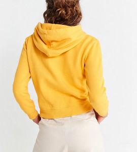 Venda Direta de fábrica de mulheres grossista Personalizado Blusa com capuz de curta agasalho