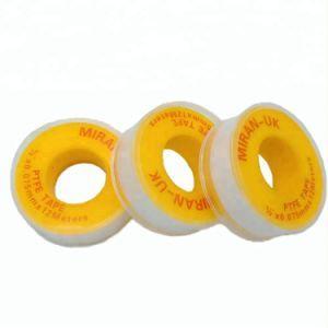 19mmの幅の黄色テープシールテープ糸PTFEテープ