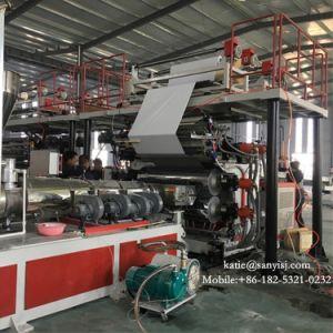 En PVC Vinyl de verrouillage Plancher Plancher de SPC Making Machine