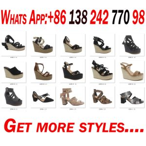 Les femmes cale pour ouvrir Toe Lady Fashion pansement chaussures sandales plate-forme
