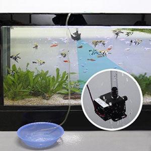 OEM Bluefish DC 12V mini micro riego decoración fuente cascada de anfibios de flujo de las bombas de 220l/h