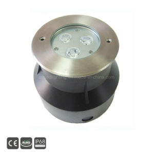 IP68 9W RGB3in1 LED Unterwasserpool-Lampe