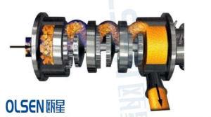 Super Wear-Resistant de acero inoxidable de grado alimentario sello mecánico de alto cizallamiento tipo canalización sanitaria dispersar Emulsifie