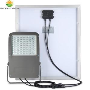 密集させなさい2別の太陽電池パネル40Wおよび組み込み195whリチウム電池(SN-S15W)が付いているデザイン2200lm 15W LED洪水ライトのすべてを