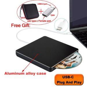 Laufwerk-Spieler USBc des External-DVD für Mac/PC/Laptop