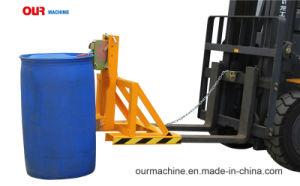 中国の製造業者はフォークによって取付けられたドラムグラブに- 500kg貯蔵した。 容量、単一のドラム