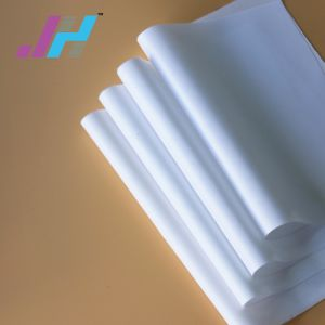 LEDのLightboxによってバックライトを当てられる織布