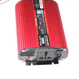 500W Auto convertisseur d'alimentation DC 12V à l'AC 220V Convertisseur de voiture avec USB et écran LCD