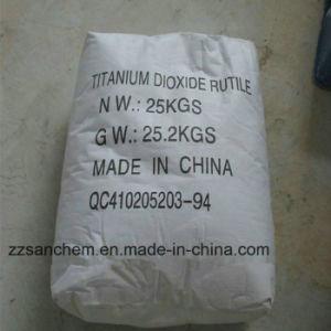 Het Rutiel van het Dioxyde van het Titanium van de hoge Zuiverheid TiO2 voor Plastiek
