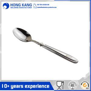 Comercio al por mayor grueso de la cena de acero inoxidable cuchara Set