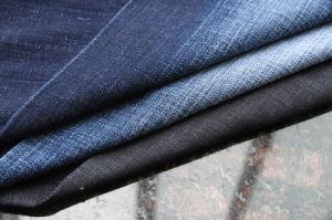 Le Denim 8.0oz poly/coton/spandex Tissu denim extensible