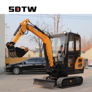 1800kg 1.8T China Mini excavadora de cadenas excavadora Accesorios