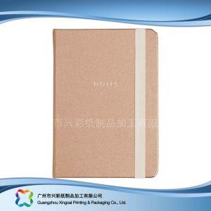 Kundenspezifischer Packpapier-Deckel-Tagebuch-Notizbuch-Planer des Firmenzeichen-A5 (Xc-stn-002)
