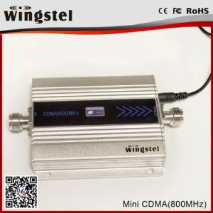 2018 de Hete Nieuwe MiniVersterker van het Signaal van het Signaal 850MHz Hulp Zilveren voor het Mobiele Gebruik van het Bureau