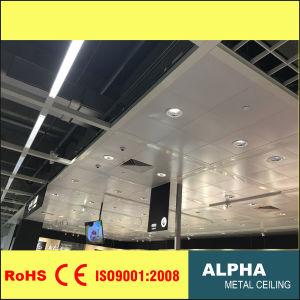 Panneau de plafond en métal aluminium Clip de plafond suspendu en tuiles