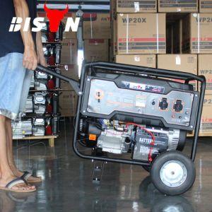 Зубров 5 квт Электрический пуск 220 в бензине портативный генератор