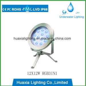 LED de alta potencia resistente al agua bajo el agua de la luz de la piscina LED spot