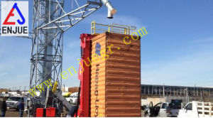 Recipiente de cilindro hidráulico telescópico Tilter elevação de Descarga