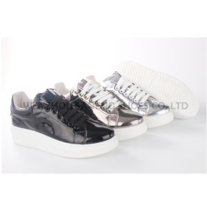 Chaussures femmes PG/chaussures en cuir chaussures occasionnel (SNC-65004)