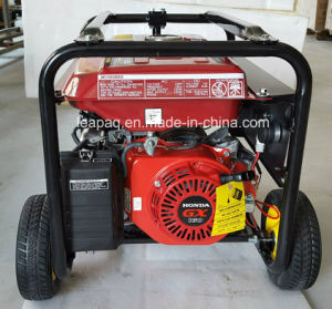 2.0kw電気開始ホンダ元のエンジンGx160によって動力を与えられる携帯用ガソリン発電機