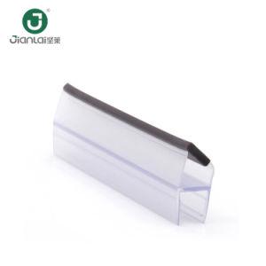 Wasserdichte anhaftende Dusche-Gummidichtungs-Streifen für Glastür