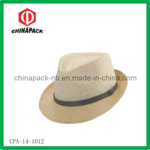 Straw Fedora Hat (CPA-14-1012)