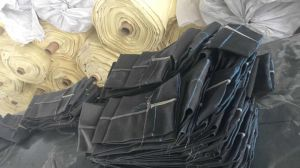 集じん器の空気ろ過のためのガラス繊維のフィルター・バッグ