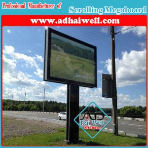 W3X H2のスクローリング都市LEDライトボックスの掲示板