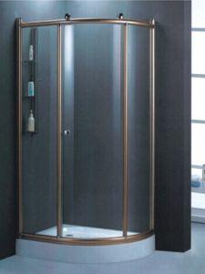 Sanitarios de cristal templado de alta calidad Ducha (H007E)