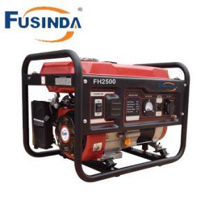 Un fuerte Bastidor Redondo, de Una Sola Fase 2kw Generador Gasolina