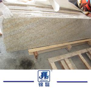 床タイルのための中国の自然な炎にあてられたか、または磨かれた黄色い花こう岩G682かPavingsまたは階段またはプールの対処石