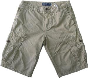 Cargo Short Pants di 100%Cotton Men per Casual Sport S0028