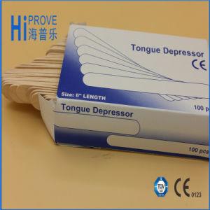 Устранимый деревянный депрессор языка