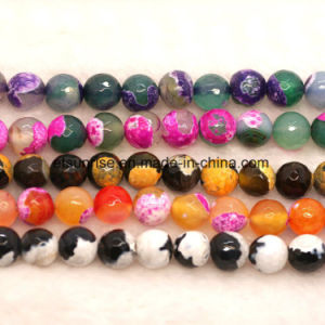 Perle de pierres précieuses en cristal naturel <Esb01767>