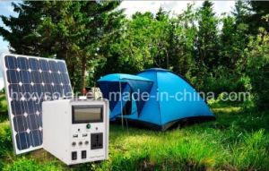 Het Systeem van de Verlichting van de ZonneMacht van het huis voor Binnen of het Kamperen, ZonneGenerator, het Systeem van de ZonneMacht