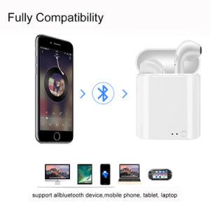 無線イヤホーンI7s TwsはSmartphoneのためのEarbudsを結び付ける