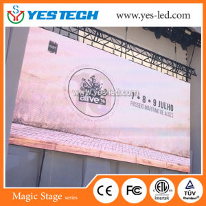 Het openlucht/Binnen Video LEIDENE Comité van de Vertoning voor de Reclame van de Fabriek van China