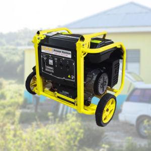 6.5Kw/6.5kVA/7500 50Hz/60Hz 110V/220V/380V gasolina Generador Portátil/gasolina