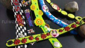 Pulsera de PVC blando personalizados para niños regalos