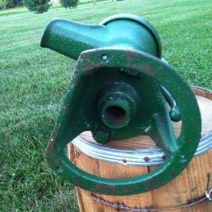 La pompe à eau à la main en fonte (DK200)
